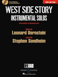 WEST SIDE STORY Instrumental Solos + CD
