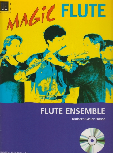 MAGIC FLUTE Flute Ensemble + CD
