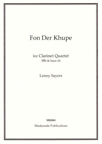 FON DER KHUPE (score & parts)