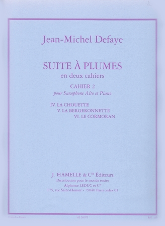 SUITE A PLUMES Book 2