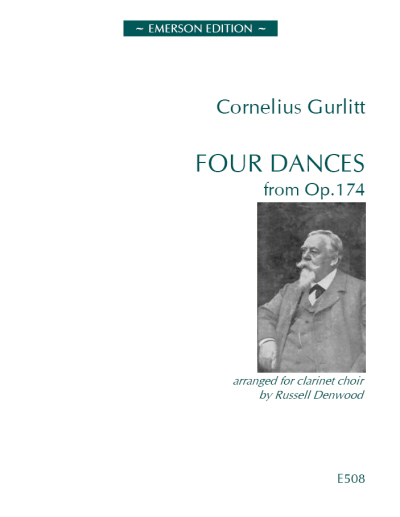 FOUR DANCES from Op.174 score & parts