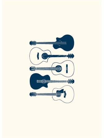 GREETING CARD Acoustic Guitar