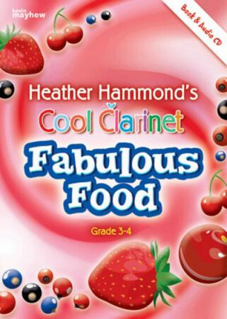COOL CLARINET Fabulous Food + CD