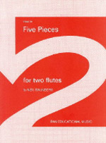 FIVE PIECES FOR TWO FLUTES