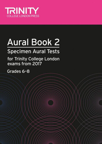 AURAL BOOK 2 + 2CDs Grades 6-8 (2017+)