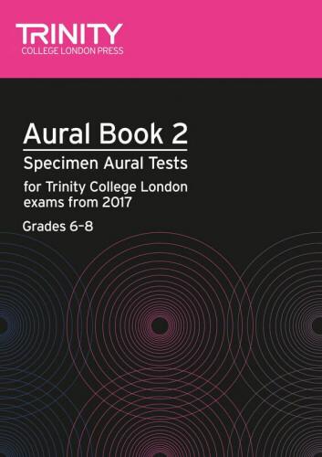 AURAL BOOK 2 + 2CDs Grades 6-8 (2017+)