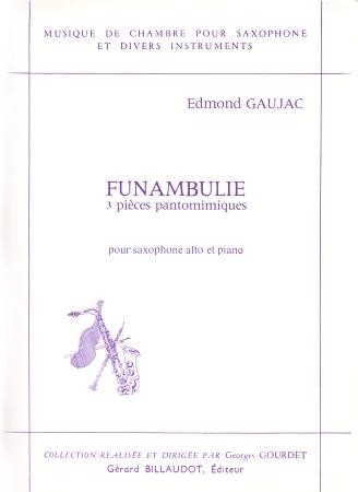FUNAMBULIE 3 pieces pantomimiques