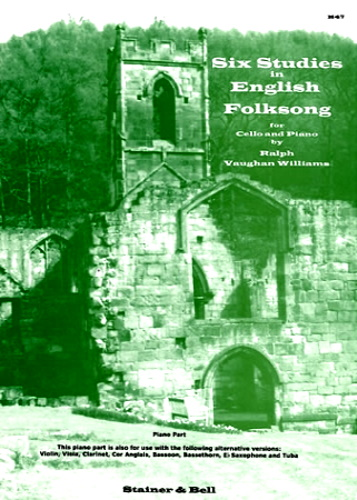 SIX STUDIES IN ENGLISH FOLKSONG Piano Accompaniment