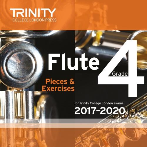 FLUTE PIECES 2017-2020 Grade 4 CD