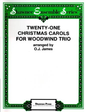 21 CHRISTMAS CAROLS (score & parts)