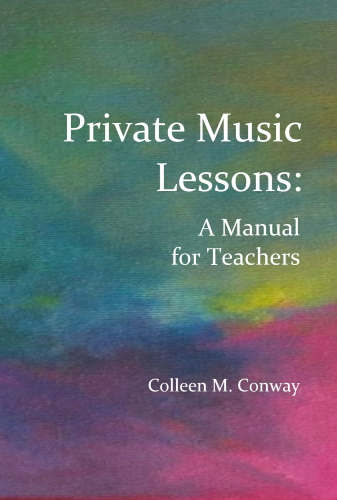 PRIVATE MUSIC LESSONS A Manual for Teachers