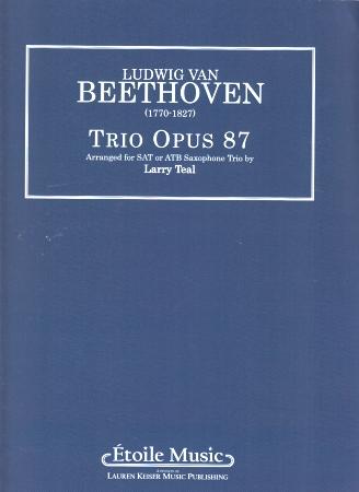 TRIO Op.87 (score & parts)
