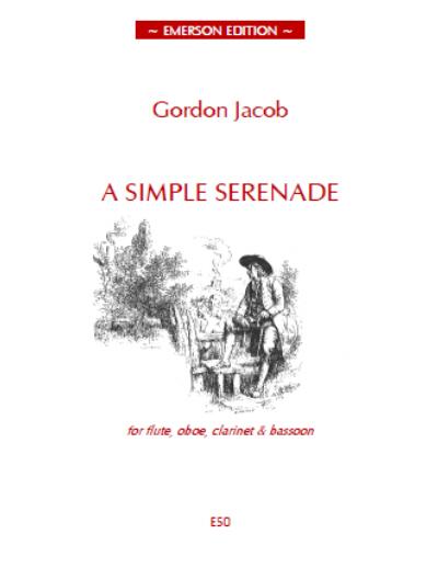 A SIMPLE SERENADE score & parts