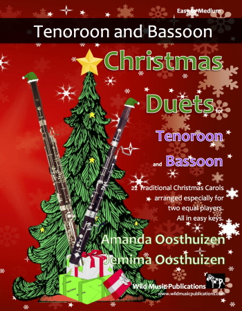 CHRISTMAS DUETS for Tenoroon & Bassoon