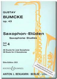 SAXOPHONE STUDIES Op.43 Part 4: 38 Duets