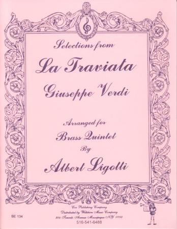 SELECTIONS FROM LA TRAVIATA (score & parts)