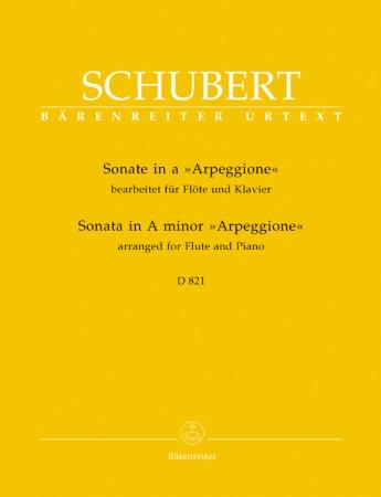 SONATA in A minor 'Arpeggione', D821