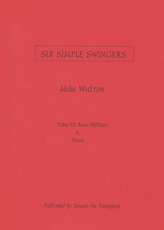 SIX SIMPLE SWINGERS (treble/bass clef)