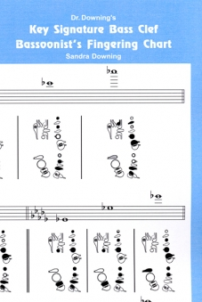 BASSOON KEY SIGNATURE FINGERING CHART