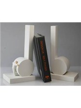 BOOKENDS White Crotchet