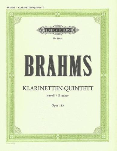 CLARINET QUINTET in B minor Op.115 (set of parts)