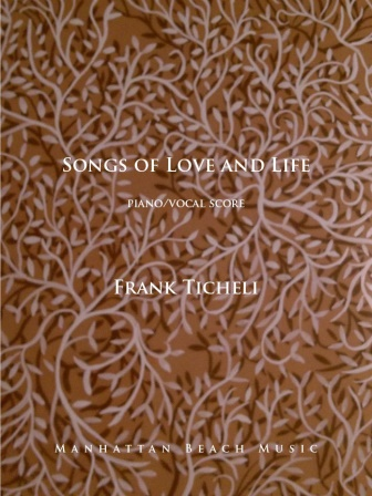SONGS OF LOVE AND LIFE (piano/vocal score)