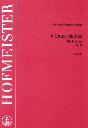 6 DUOS FACILES Op.41 (playing score)