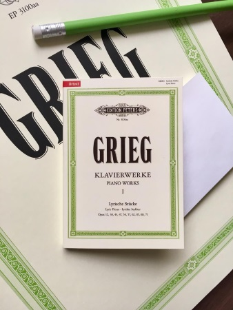 STICKY NOTES Grieg - Piano Works, Volume 1