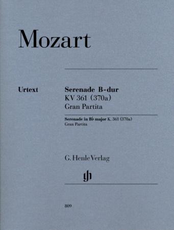 GRAN PARTITA in Bb major KV 361 (set of parts)