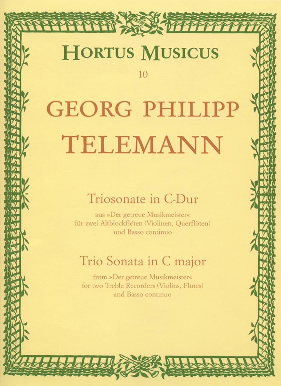 TRIO SONATA in C 'Der getreue Musikmeister'