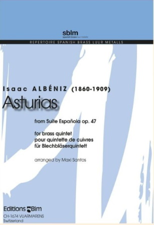 ASTURIAS (score & parts)