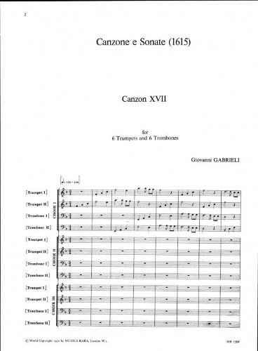 CANZON XVII