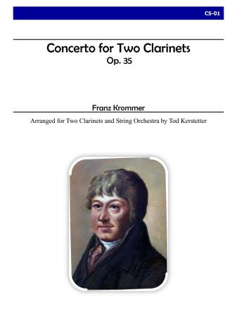 CONCERTO FOR TWO CLARINETS AND STRINGS, Op.35