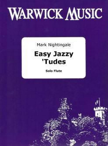 EASY JAZZY 'TUDES for Flute + Online Audio