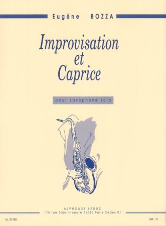 IMPROVISATION ET CAPRICE