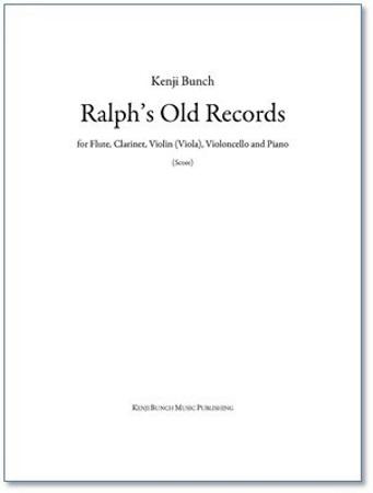RALPH'S OLD RECORDS (piano score & parts)