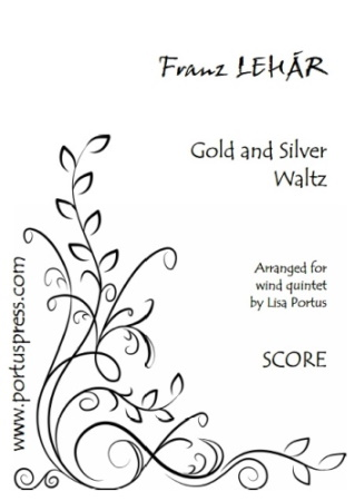 GOLD AND SILVER WALTZ (score & parts)