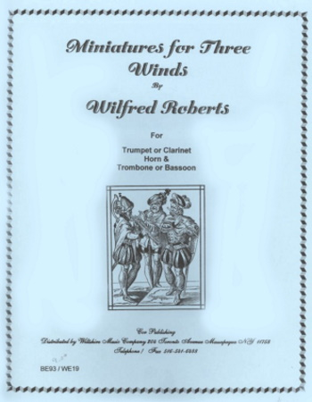 MINIATURES for Three Winds (score & parts)