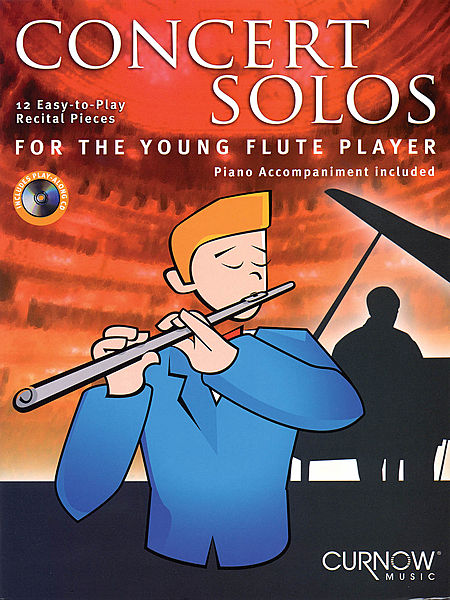 CONCERT SOLOS for the Young Flute Player + CD