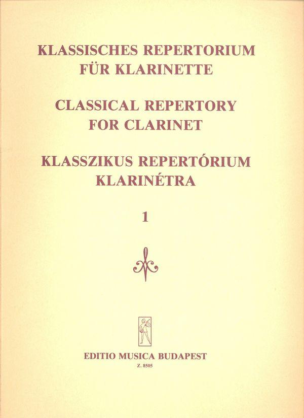 CLASSICAL REPERTORY I