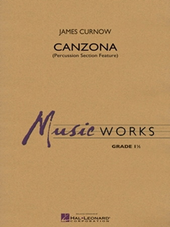 CANZONA (PERCUSSION SECTION FEATURE) (score)