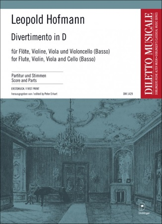DIVERTIMENTO in D major score & parts