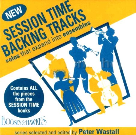 SESSION TIME BACKING TRACKS CD