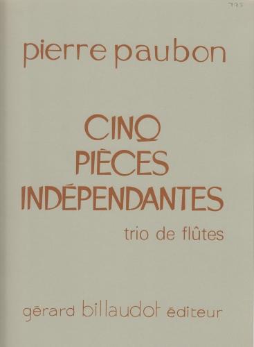 CINQ PIECES INDEPENDANTES