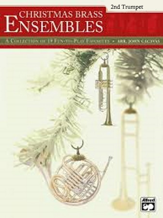 CHRISTMAS BRASS ENSEMBLES trumpet 2
