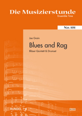 BLUES AND RAG (score & parts)