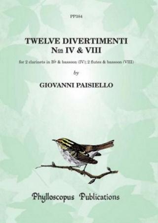 TWELVE DIVERTIMENTI Nos.IV & VIII