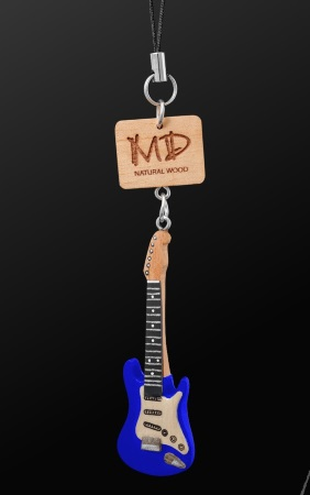 WOODEN STRAP Electric Guitar (Blue)