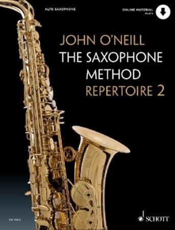 THE SAXOPHONE METHOD REPERTOIRE Book 2 + Audio Download