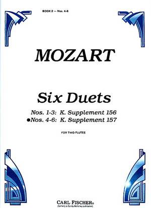 SIX DUETS Op.75 K156/157 Volume 2